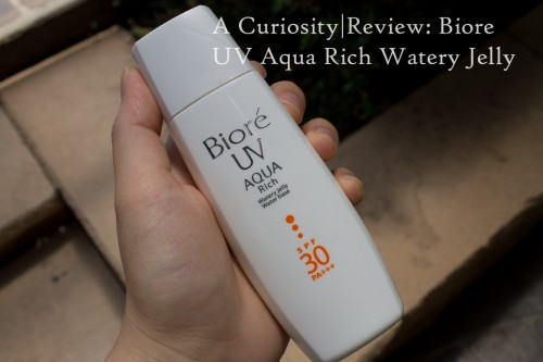 Review: Biore UV Aqua Rich Watery Jelly
