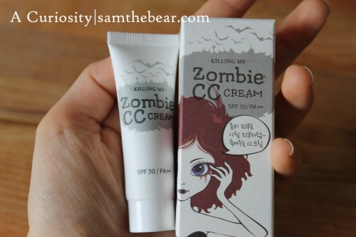 Zombie CC cream