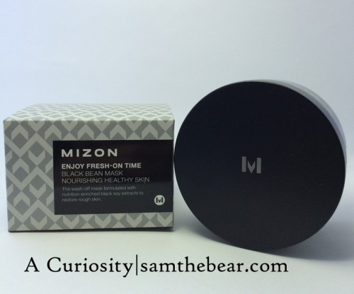 Mizon_blackbeanmask